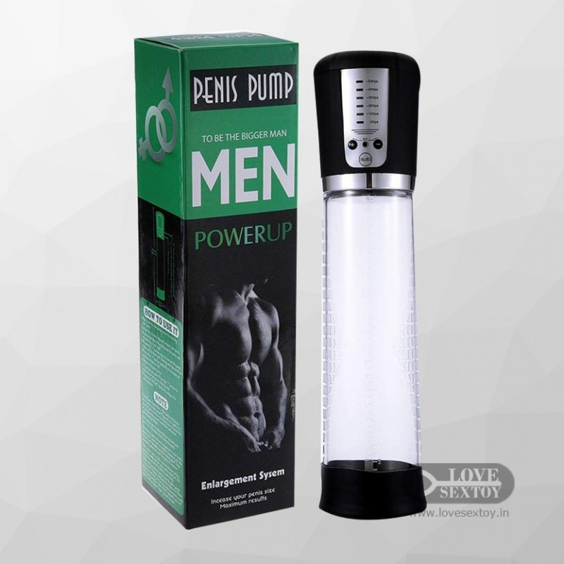 PENIS PUMP MEN POWERUP PE-019